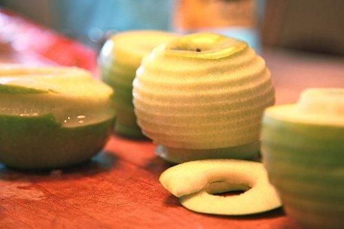 manzana peladura torbakhopper