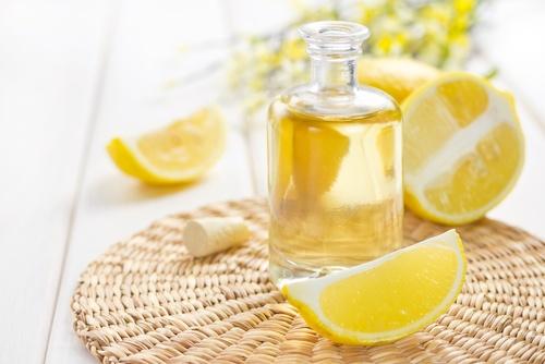 Aceite de germen de trigo y limón