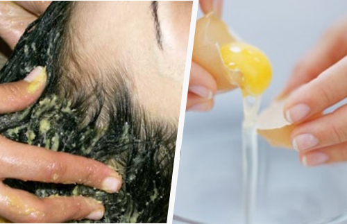 Yema-de-huevo-cabello