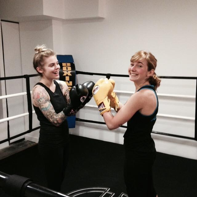 BFF boxing time