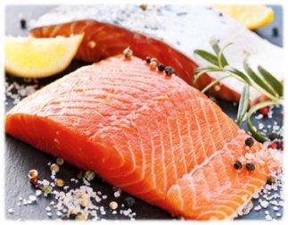 Salmon y limon