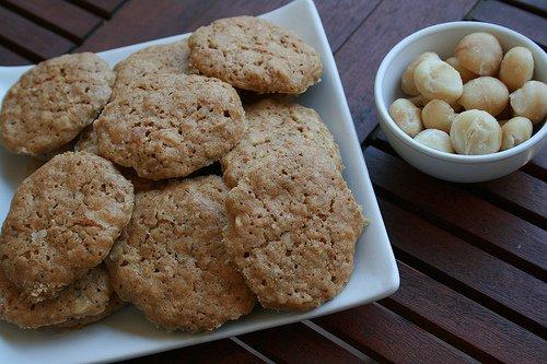 nueces galletas Andurinha