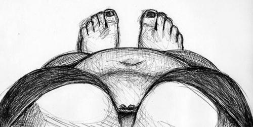 Cuerpo visto desde arriba